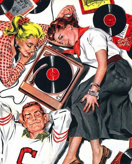 Love listening to vinyl