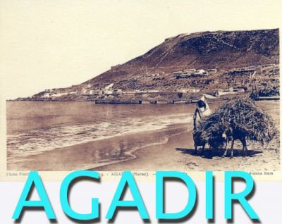 Agadir avant le seisme