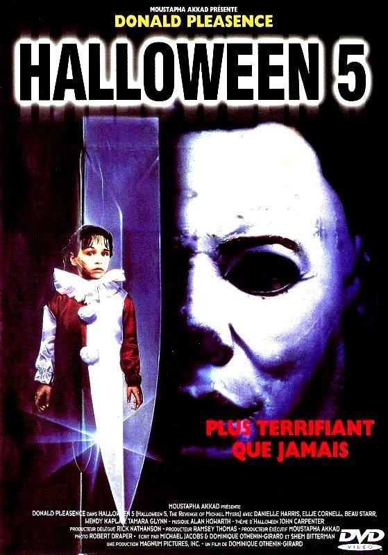 critiques de films d u0026 39 horreur    halloween 5  la revanche de michael myers