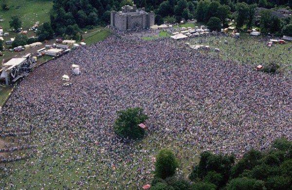 Slane Castle, Irlande, 5 juillet 1986