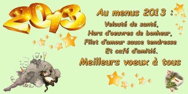 bonne année à tous!!!!!