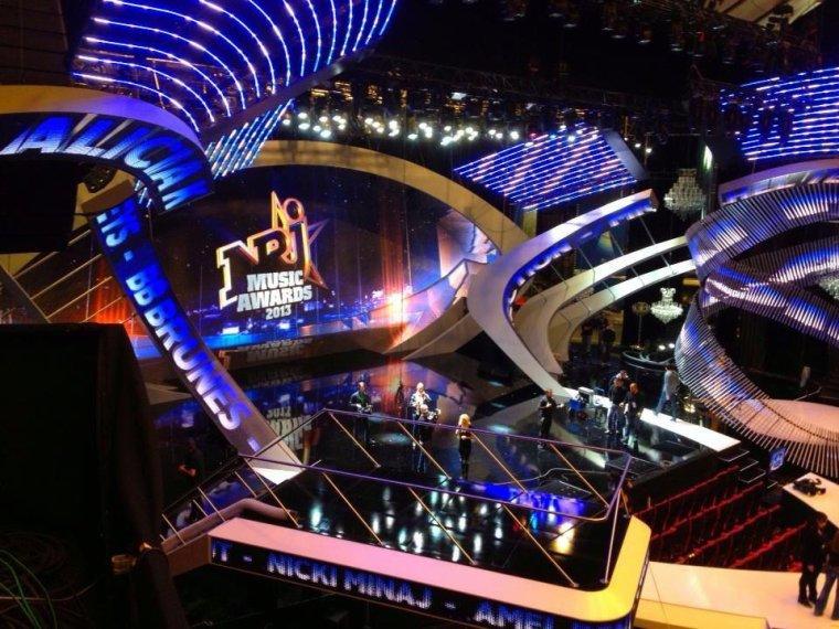 La salle pour les NRJ Music Awards