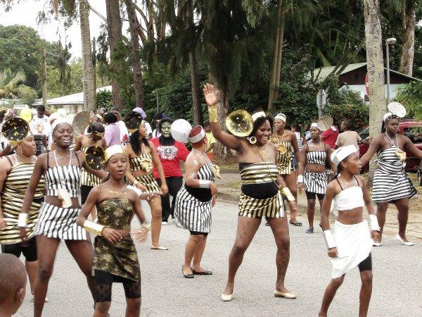 Début du carnaval 2012