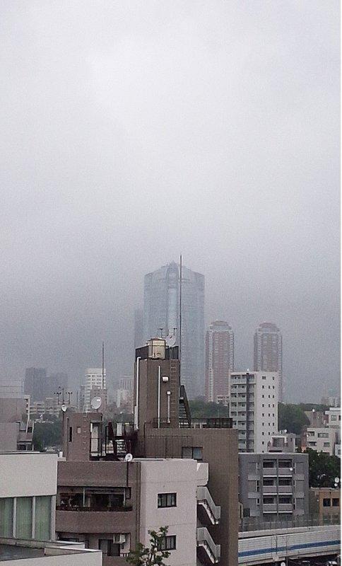 Metropolitan under the cloudy sky