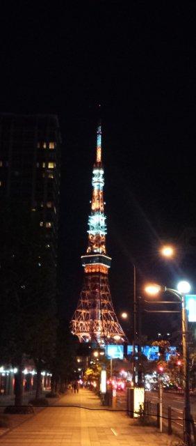 Tokyo Tower in Midnight