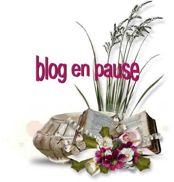 blog en pause pour un bon momant  raison santée bisous a tous