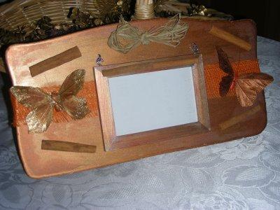 ref 120 cadre photo couleur cuivr id ecado. Black Bedroom Furniture Sets. Home Design Ideas