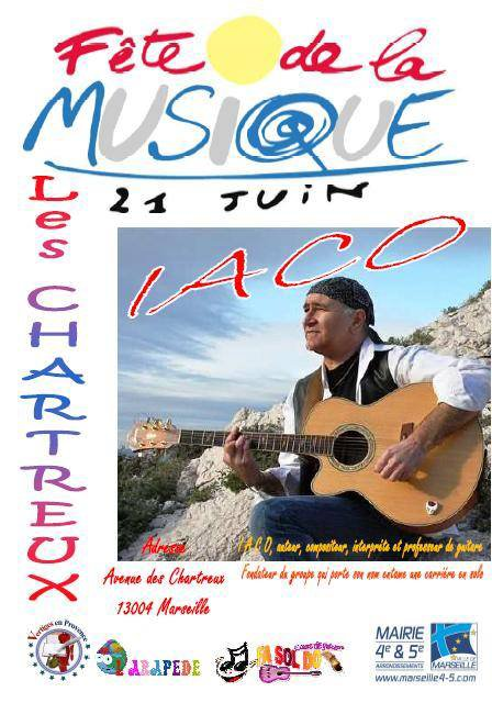 iaco fait sont concert le 21 juin