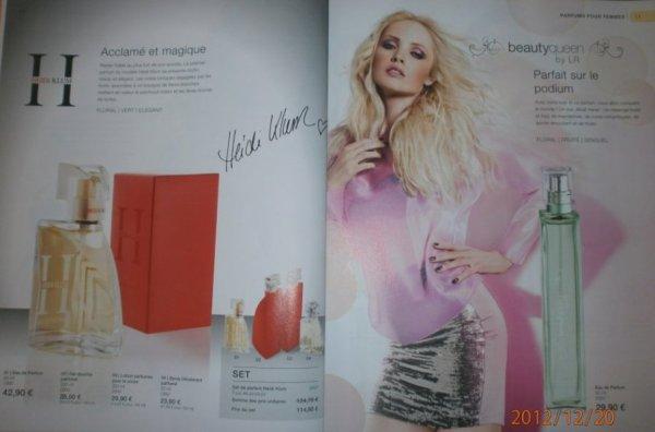 "Heidi Klum and LR ""beautyqueen"""