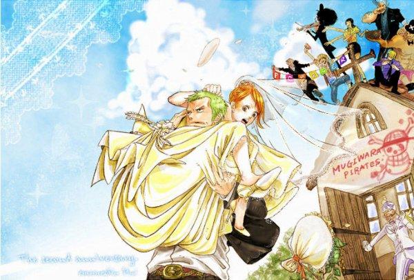 One Piece couple zona