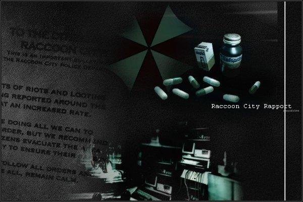 Chronologie : Raccoon City Rapport
