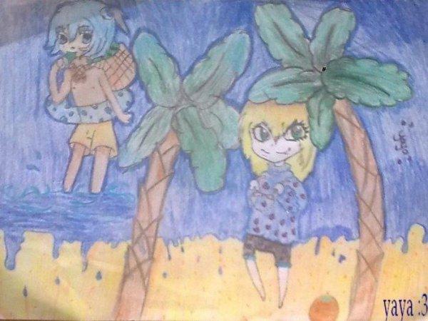 concour  dessin de  miyuki :3