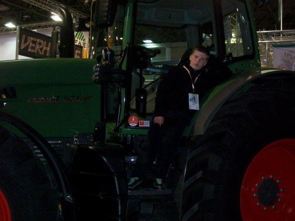 moi et le tracteur