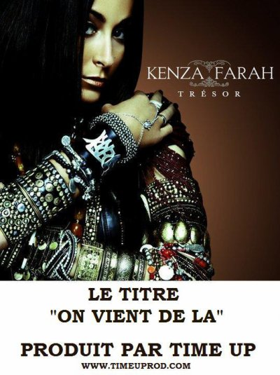 TIME UP SUR L'ALBUM TRESOR DE KENZA FARAH