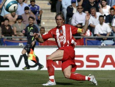Fernando Torres à l'Atlético Madrid