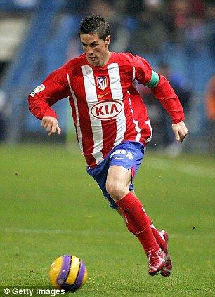 Fernando Torres à L'Atlético Madrid2