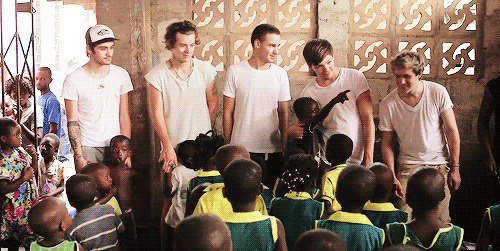 One Direction en Afrique (1)