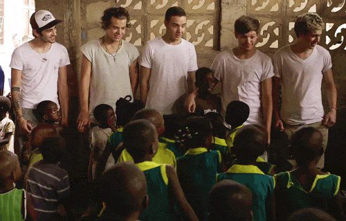 One Direction en Afrique (2)