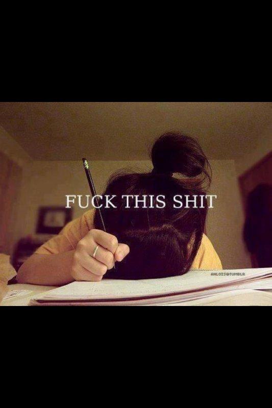 j'en ai marre des cours!!!!!