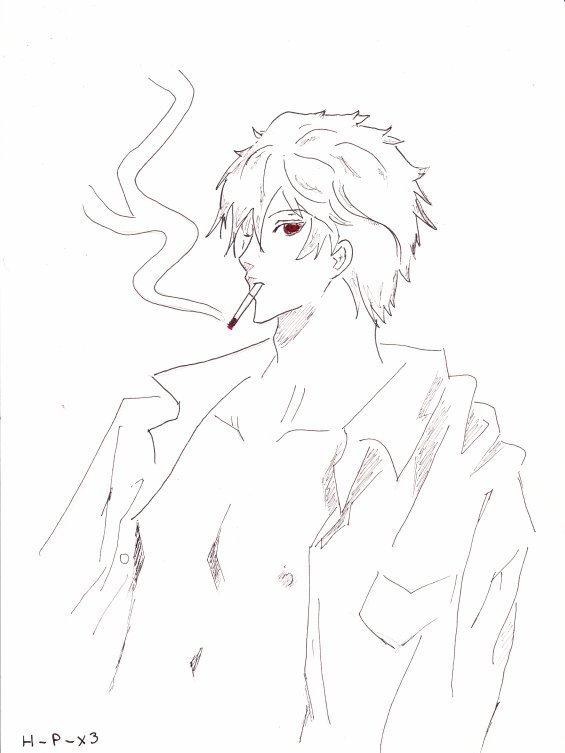 Toujours la même silhouette, celle de la Cigarette.