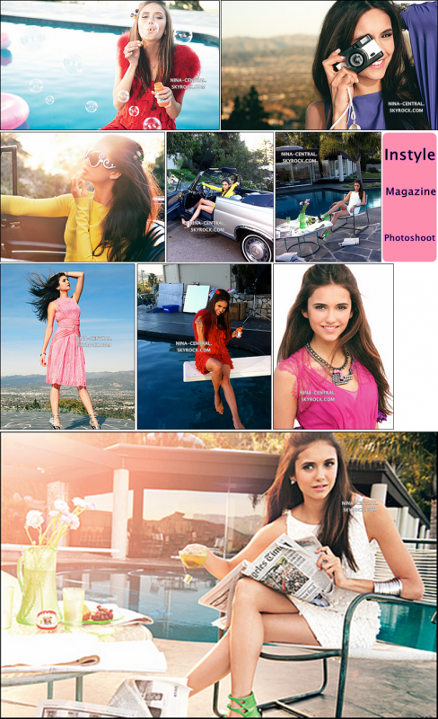 ancien photoshoot de Nina.