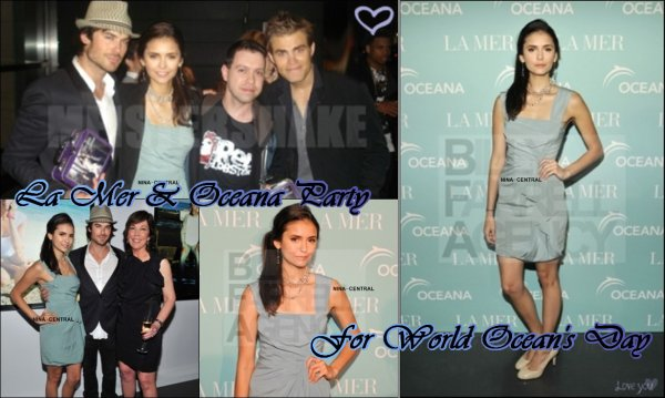 (18/05) La Mer & Oceana Party + (19/05) CW Upfront Party