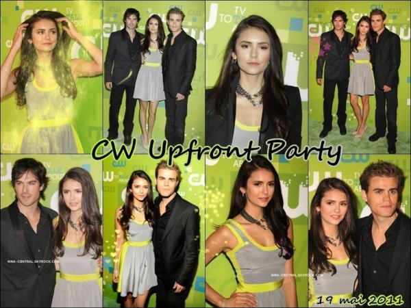 (18/05) La Mer & Oceana Party + (19/05) CW Upfront Party