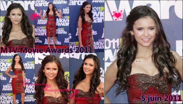 (05/06) Nina aux MTV Movie Awards