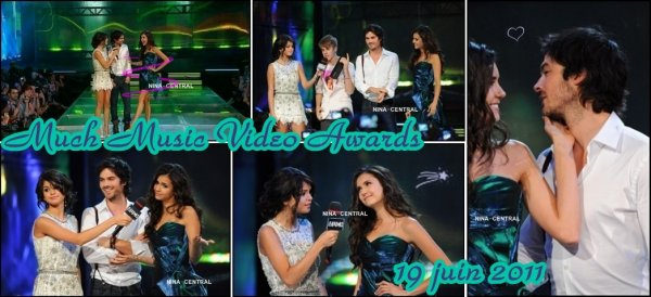 Nina aux Much Music Video Awards