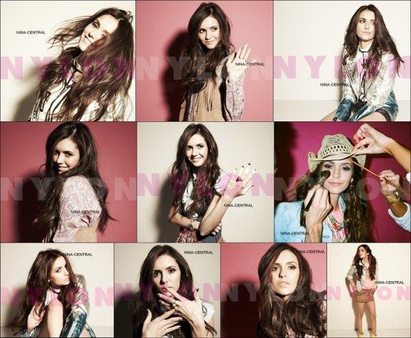 Nina pour Nylon