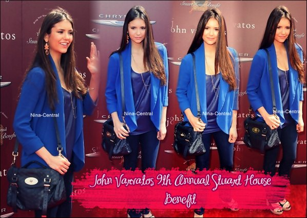 11/03/12: Nina était présente au John Varvatos 9th Annual Stuart House Benefit.