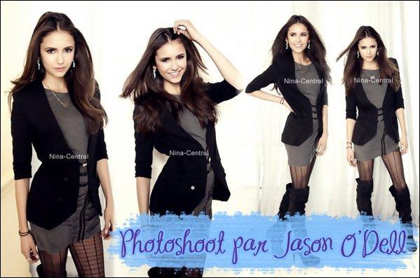 Découvrez de nouvelles photos d'un shoot de Nina réalisé en 2011!