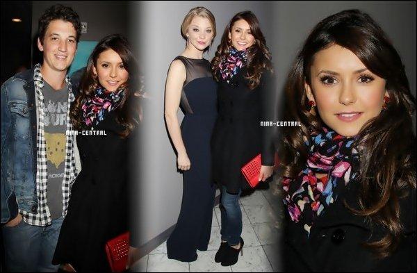 Nina au Savannah Film Festival 2013