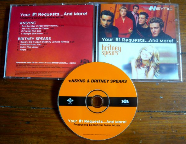 CD : *NSYNC & Britney Spears : Your #1 ... And More !
