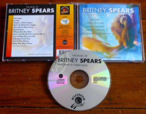 CD : The Music Of Britney Spears Performed By Karen Kane