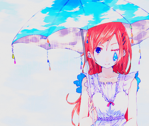 I love you...Rain