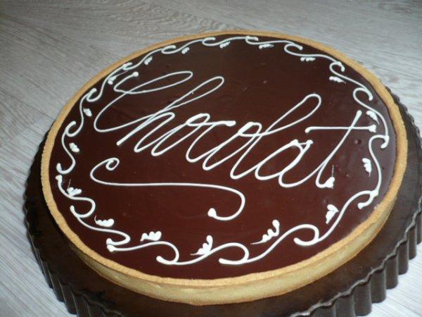 nouvelle version de tarte au chocolat