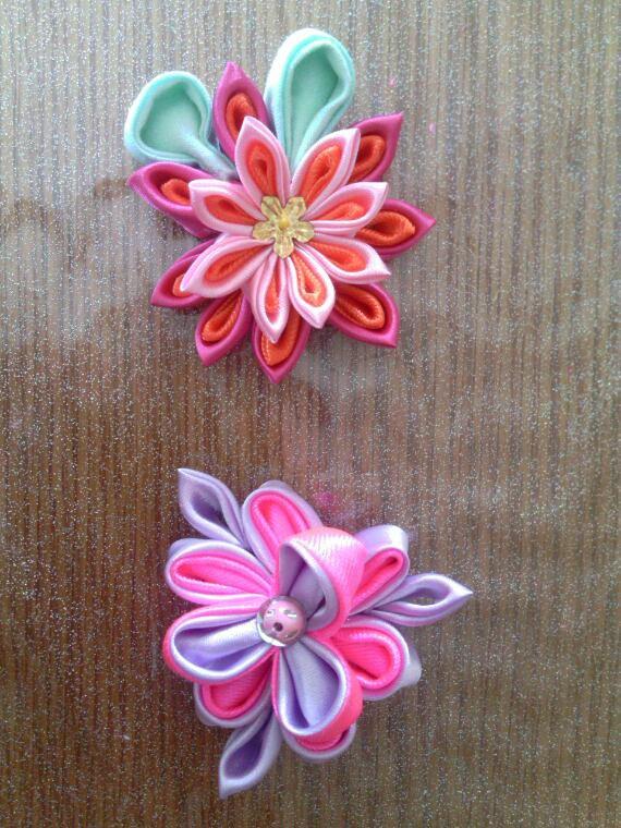 Kanzashi fleurs