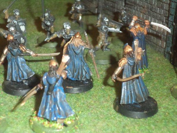 Les tuniques bleus