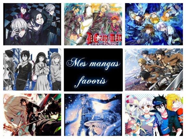 My farvorit mangas !