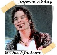 i can feel u always ......... all for L.O.V.E  it's time michael jackson to say to u happy birthay 52year and we love u much<3 and i hope to see u soon god bless u