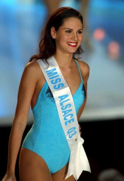 miss france 2004 en maillot de bain
