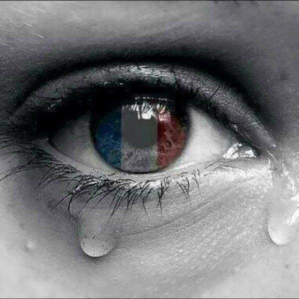 la france est encore une fois en deuil et en pleure