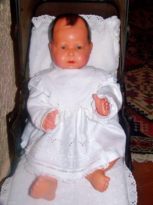 Nouveau-né   -  Petitcollin de 50 cm -  Poussette Américaine