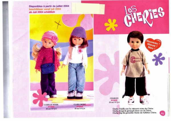 "catalogue ""Chéries"" 2004"