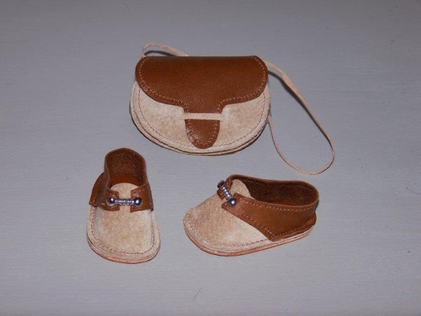 Septembre 1983 chaussures et sac