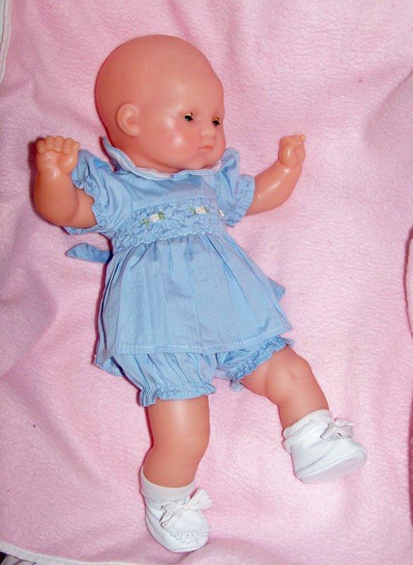 Micheline et bébé chéri