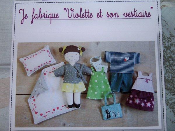 Violette est arrivée