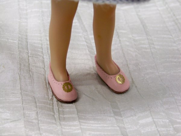 Des chaussures minuscules
