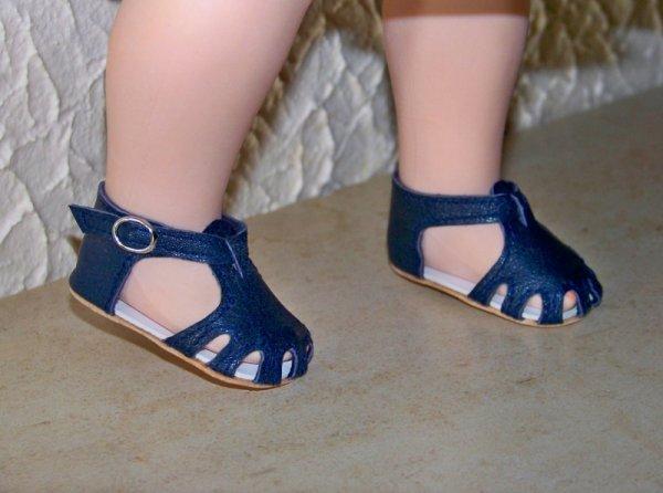 Les nouvelles chaussures de Marie-Françoise